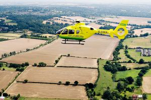 Ariel Photography of the Essex Air Ambulance