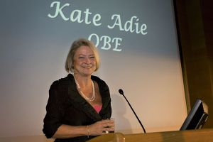 Event photography of Kate Adie OBE
