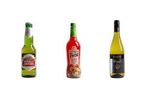 Pack Shots of Bottles